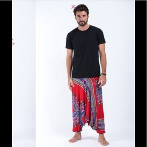 Harem Pants Pants - Men's Dashiki Print Harem Pants 🔥